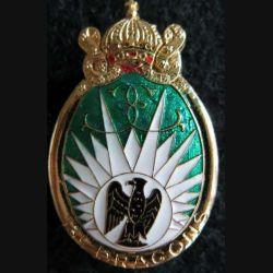 13° RDP : insigne métallique du 13° régiment de dragons parachutistes fabrication Delsart G. 983