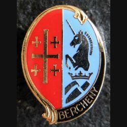 1° RHP : insigne métallique du 1° régiment de hussards parachutistes de fabrication Delsart H. 295