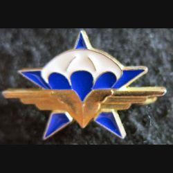 1° RCP : insigne métallique du 1° régiment de chasseurs parachutistes de fabrication Delsart  G. 2321