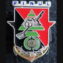 17° RGP: insigne de la compagnie d'appui du 17° régiment du génie parachutiste FINUL 82 Delsart