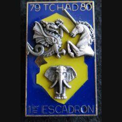 1° RHP : 1° escadron du 1° hussards parachutistes au Tchad 1979-1980 de fabrication Delsart