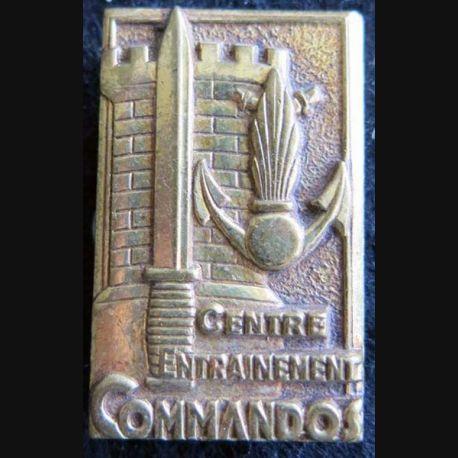 CEC GIVET : insigne du centre d'entrainement commando de Givet de fabrication Drago G. 2005