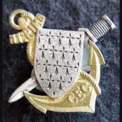 11° RIMA CEC : insigne métallique du centre d'entrainement commando 11° régiment d'infanterie de Marine Drago G. 2059