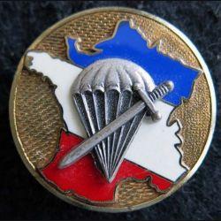 1° BPC : insigne métallique du 1° bataillon de choc Delsart G. 455 en relief