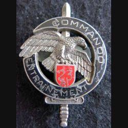 CEC 23° RI : Brevet du centre d'entrainement commando du 23° RI monobloc Delsart GS. 31