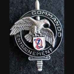 CEC 9° RZ : Brevet du centre d'entrainement commando du 9° Zouaves Arthus Bertrand GS. 31