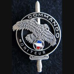 CNEC : Insigne de brevet moniteur commando de fabrication Drago homologué GS. 93