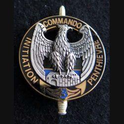 CEC 3° RIMa : insigne du 3° RIMA centre commando initiation Penthievre Drago Noisiel