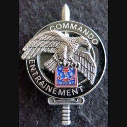 CEC PACIFIQUE : brevet du centre d'entrainement commando FANC Pacifique Delsart GS.102