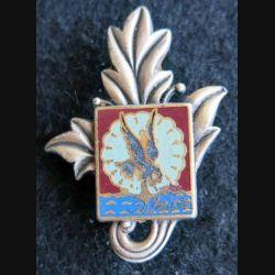 11° DP SRI : insigne métallique de la section ravitaillement de l'Intendance 11° division parachutiste Drago G. 2395