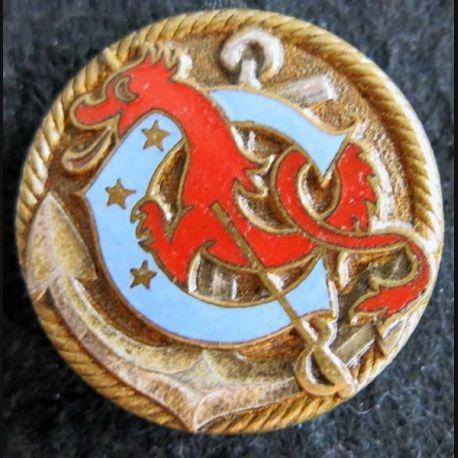 COURBET : Ecole de canonage Courbet de fabrication Drago Béranger émail