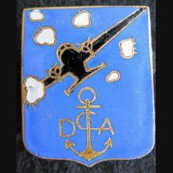 DCA BIZERTE : Défense contre avion de la base de Bizerte de fabrication non mentionnée en émail