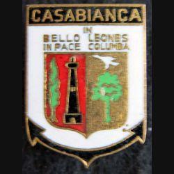 CASABIANCA : Escorteur d'escadre Casabianca fabrication Arthus Bertrand en émail