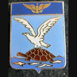 4 F : insigne métallique de la flottille 4 F Drago Paris en émail