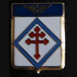 6 F : insigne métallique de la flottille 6 F sans fabricant marqué