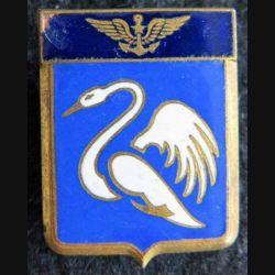9 F : insigne métallique de la flottille 9 F Courtois Paris en émail