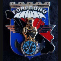 17° RGP : 17° régiment du génie parachutiste FORPRONU 1° séjour Boussemart