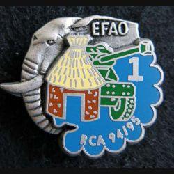 1° RHP : 1° escadron du 1° hussards parachutistes EFAO RCA 94-95