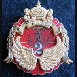 13° RDP : insigne métallique du 2° escadron du 13° régiment de dragons parachutistes LR Paris