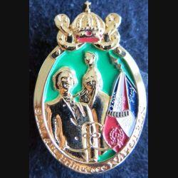 13° RDP : insigne métallique du 13° régiment de dragons parachutistes SAI Alix princesse Napoléon IMC