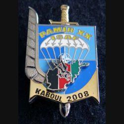 3° RPIMA : 3° régiment parachutiste d'infanterie de marine PAMIR XX 2008 Boussemart numéroté 1142