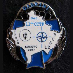 11°CCTP : compagnie de commandement et de transmissions parachutiste  BCS 12 Kosovo 2007 N° 134