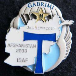11°CCTP : compagnie de commandement et de transmissions parachutiste ISAF Afghanistan 2008