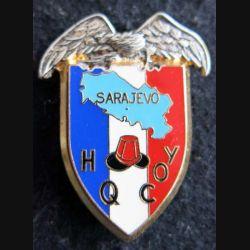14° RPCS HQ COY : compagnie de quartier général Sarajevo du 14°RPCS  Ballard
