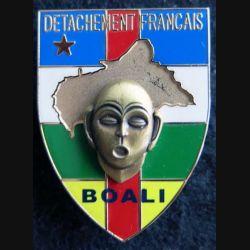 DÉTACHEMENT FRANÇAIS RCA : détachement français de l'opération Boali Boussemart