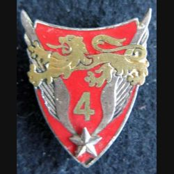 4° GHL : insigne du 4° groupe d'hélicoptères légers de l'armée de terre de fabrication Drago G. 2073