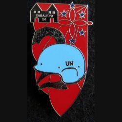 1° RHP : 2° escadron du 1° régiment hussards parachutistes Sarajevo 94 de fabrication Balme Saumur