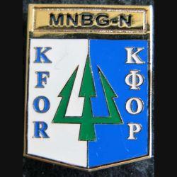 MNBG-N KFOR : bataillon multinational Nord KFOR Sheli