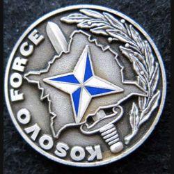 KOSOVO : Médaille de la Kosovo Force offerte par le commander MG Wolfgang Kopp