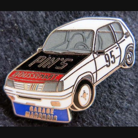 PIN'S : Pin's automobile Garage Margnois Renault 5 R5 N° 95 fabrication Boussemart