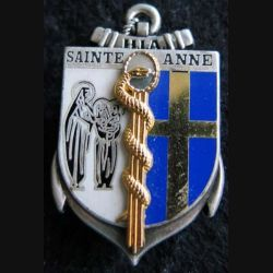 HIA STE ANNE : insigne de l'hôpital d'instruction des armées Sainte Anne de fabrication Boussemart 2001 G. 4069