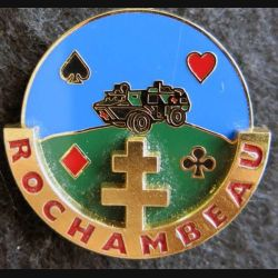501-503° RCC : insigne métallique du groupe médical ROCHAMBEAU de fabrication Arthus Bertrand N° 140