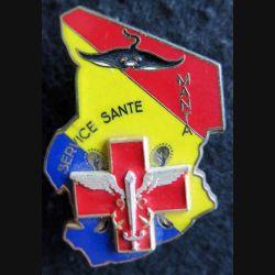 SSA MANTA : Insigne métallique du service de santé des armées de l'opération MANTA au Tchad Delsart Sens