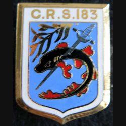 CRS 183 : cinquantenaire de la compagnie républicaine de sécurité n° 183 fabrication Destrée