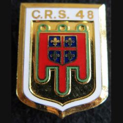 CRS 48 : cinquantenaire de la compagnie républicaine de sécurité n° 48 fabrication Destrée