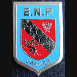 POLICE VANNES : insigne de l'école nationale de police de Vannes de fabrication Delsart