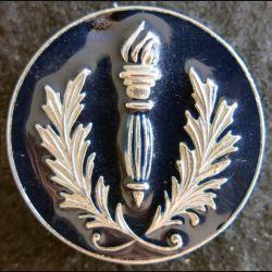 POLICE : insigne métallique de coiffure des compagnies républicaines de sécurité FIA