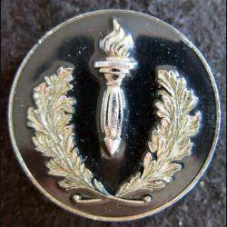 POLICE : insigne métallique de coiffure des compagnies républicaines de sécurité AMCA Paris