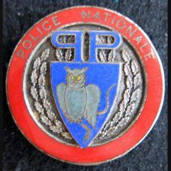 POLICE : insigne métallique de la Brigade de Direction de la PP en émail