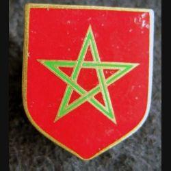 GENDARMERIE : Écu de la 12° légion de gendarmerie départementale du Maroc de fabrication Drago Paris retirage