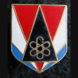 GENDARMERIE : Écu du groupement spécial de sécurité gendarmerie mobile Arthus Bertrand (AB) G. 2893
