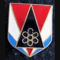 GENDARMERIE : Écu du groupement spécial de sécurité gendarmerie mobile Drago Paris G. 2893