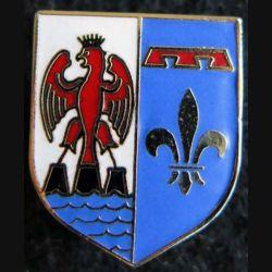 GENDARMERIE : Écu de Gendarmerie de la CCRG Provence Côte d'Azur AB (Arthus Bertrand) en émail