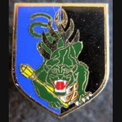 GENDARMERIE : Écu du centre national entraînement des forces de gendarmerie Delsart GN. 0051