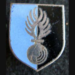 GENDARMERIE : Écu du centre administratif et technique de la gendarmerie nationale A.B G. 2190 émail (L 73)