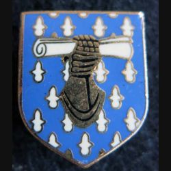 GENDARMERIE : Écu du commandement des écoles et des formations gendarmerie nationale Delsart H. 2150